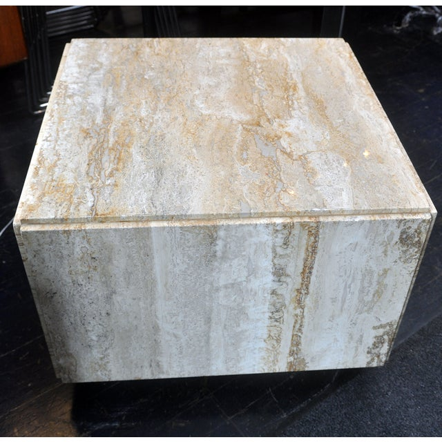 Stone Side Table - Image 6 of 7