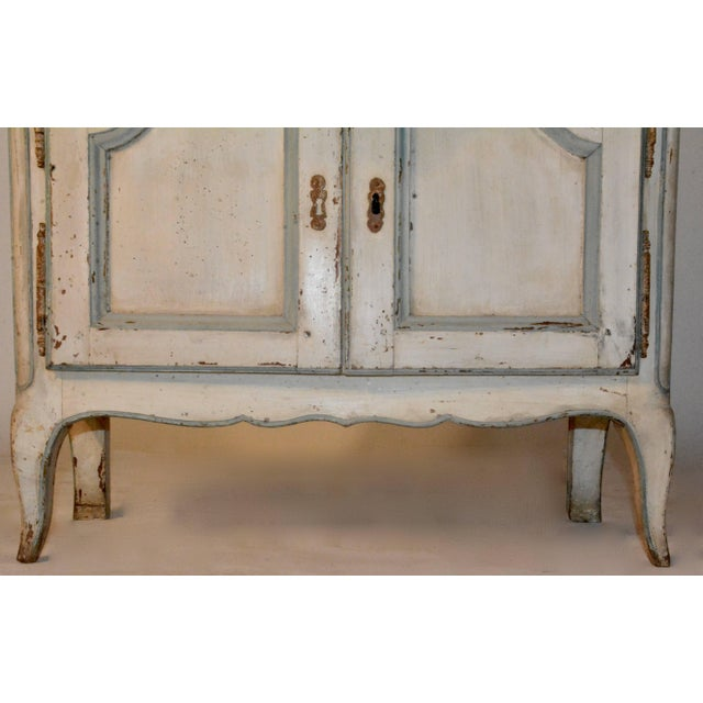 Mid 19th Century 19th Century Country French Wire Front Cupboard For Sale - Image 5 of 11