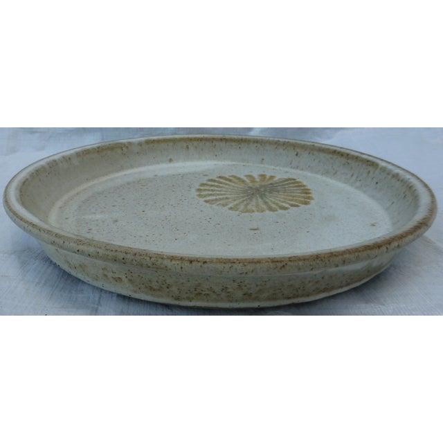 Mid-Century Studio Pottery Platter - Image 3 of 6