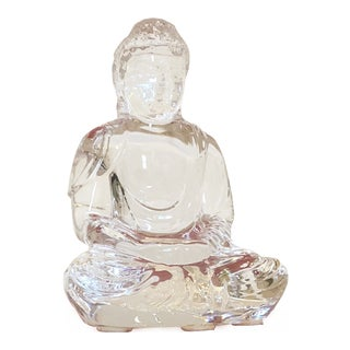 Baccarat Crystal Little Buddha For Sale