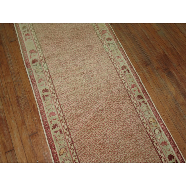 1930s Antique Turkish Anatolian Runner Rug- 2'9'' X 9'3'' For Sale - Image 5 of 7