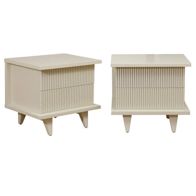 Stunning End Tables or Night Stands by American of Martinsville For Sale - Image 11 of 11