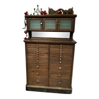 1930s Dentist Cabinet For Sale