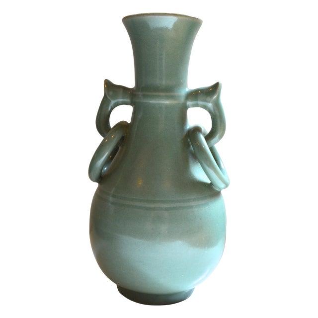 Vintage Asian Glazed Vase/Pot - Image 1 of 6