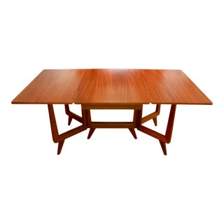 Mid-Century Modern Rock-Ola Gateleg Dining Table For Sale