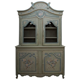 French Buffet De Corps, Later Painted For Sale