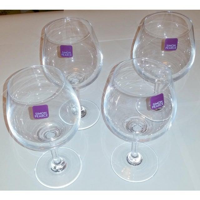 Simon Pearce Hampton Wine Glasses - Set of 4 - Image 10 of 12