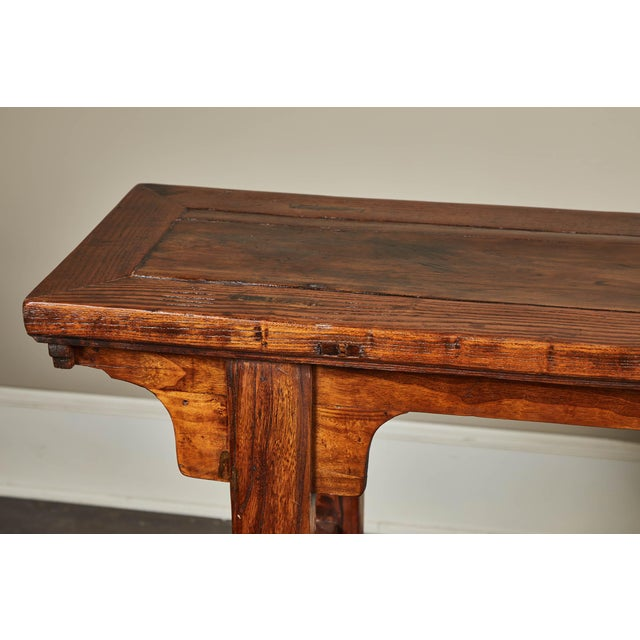 19th C. Chinese Ming Style Altar Table For Sale In Los Angeles - Image 6 of 10