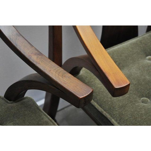 "Dunbar Set of Four ""Greene & Greene"" Chairs by Edward Wormley - Image 7 of 8"