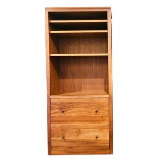 Room & Board Woodwind Walnut Bookcase For Sale