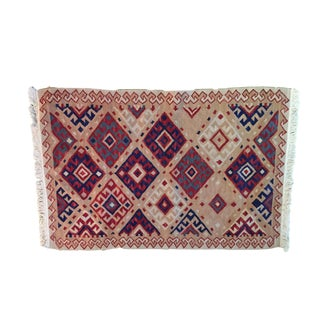 Turkish Kilim 3' by 2' For Sale