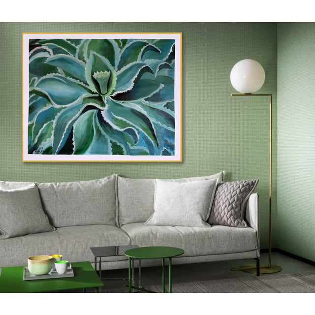 Sensuous Succulent Painting - Image 4 of 10