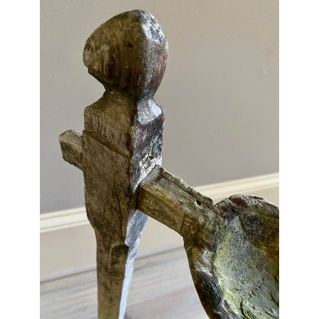 Antique Oil Lamp Stand For Sale - Image 11 of 13