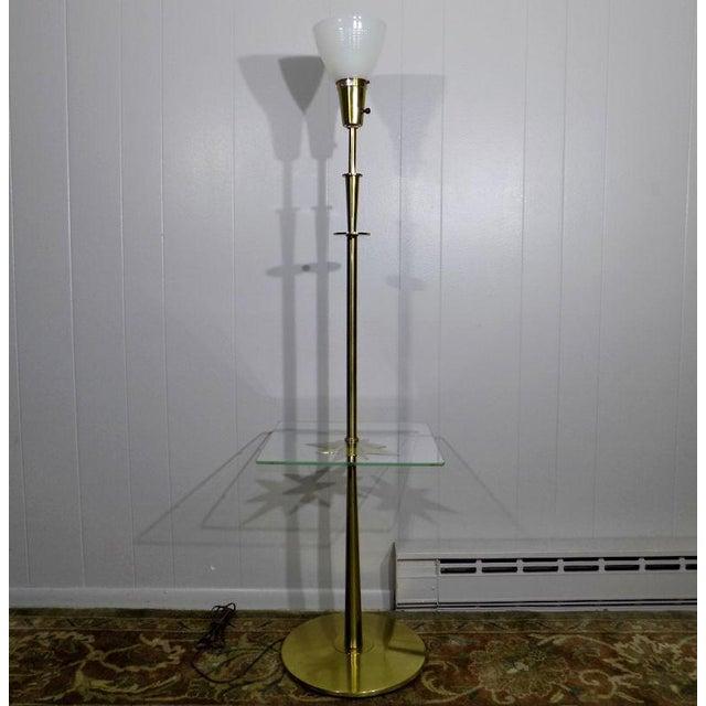 1960s Mid-Century Modern Stiffel Starburst Brass Torchiere Floor Lamp For Sale - Image 6 of 13