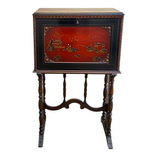 1920s Chinoiserie Writing Desk by Rockford Furniture For Sale