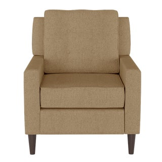 Armchair in Aiden Almond For Sale