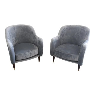 Mid Century Modern Club Chairs - a Pair For Sale