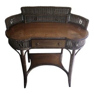 Heywood-Wakefield Reed & Oak Writing Desk For Sale
