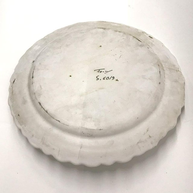Mid-20th Century Italian Trompe-L'œil Plate of Escargots For Sale In Atlanta - Image 6 of 11