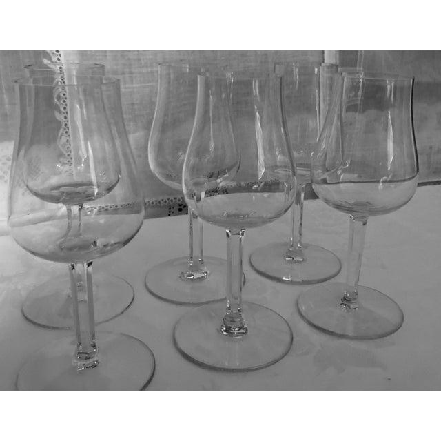 Baccarat Baccaret Claret Wine Glasses - Set of 6 For Sale - Image 4 of 9