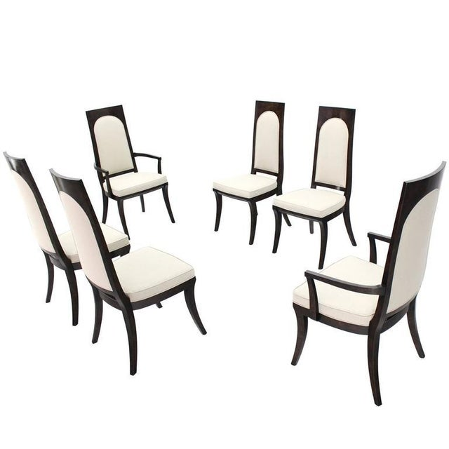 Mid-Century Modern Mastercraft Dining Chairs - Set of 6 For Sale - Image 12 of 12