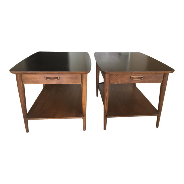 Mid-Century Modern Side Tables - a Pair For Sale