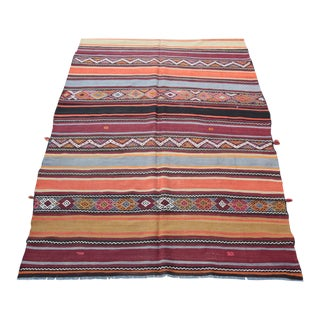 Vintage Decorative Kilims - 11' 10'' x 5' 10''