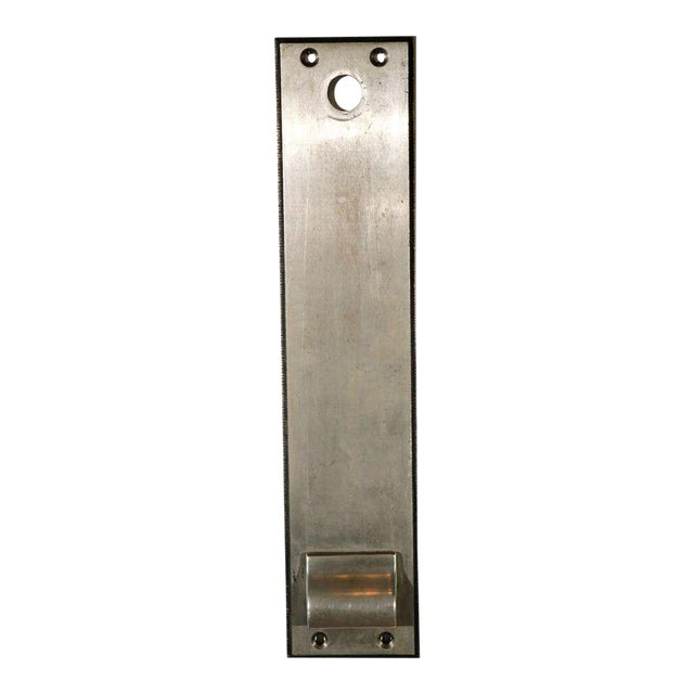 Cast Nickel-Plated Doorplates For Sale