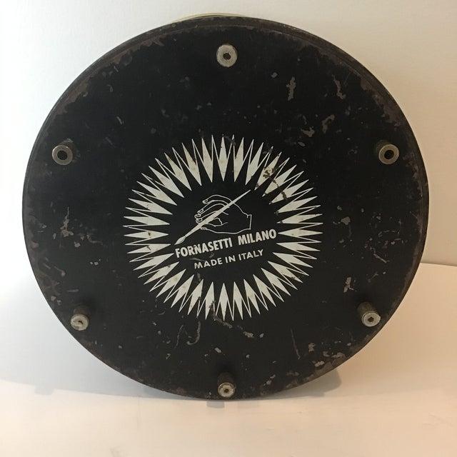 Metal Fornasetti Vintage Mid-Century Ice Bucket For Sale - Image 7 of 11