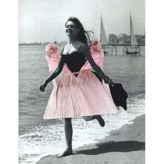 """Vive La Revolution"" Contemporary Dada Style Figurative Collage by Deborah Stevenson"