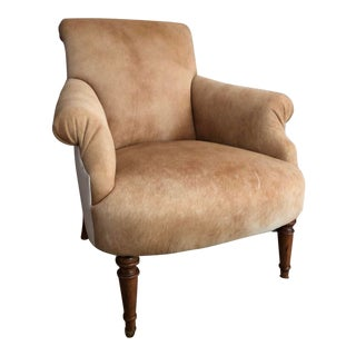 Scalamandre Hair on Hide Chair For Sale