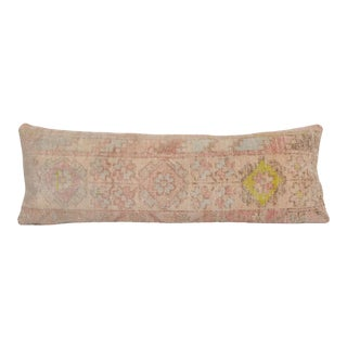 """Traditional Extra Long Turkish Rug Pillow Cover 12"""" X 36"""" For Sale"""