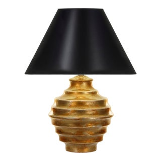 Curated Kravet Connerly Table Lamp - Gold For Sale