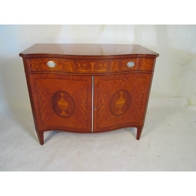 1940s Vintage Schmieg and Kotzian Satinwood Chest For Sale - Image 12 of 12