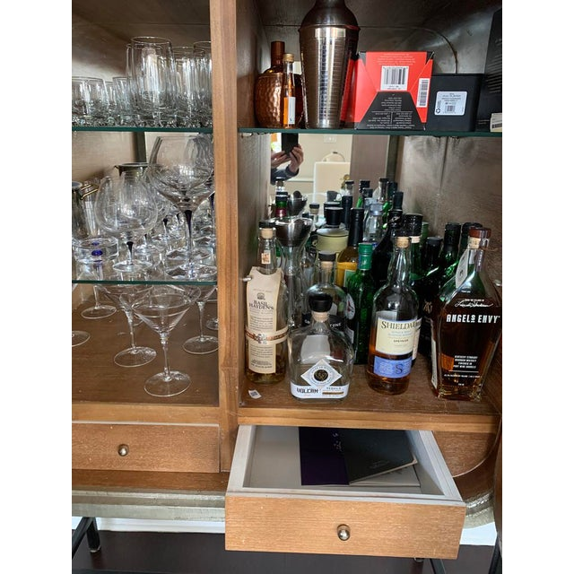 """Selamat Designs """"Milan"""" Funky Bar Cabinet by Selemat For Sale - Image 4 of 8"""