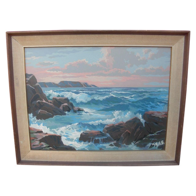 Paint by Numbers Ocean Seascape - Image 1 of 3