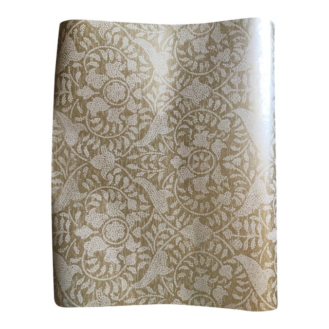 Harlequin Gold Damask Azita Wallpaper - 3 Rolls - Image 1 of 5
