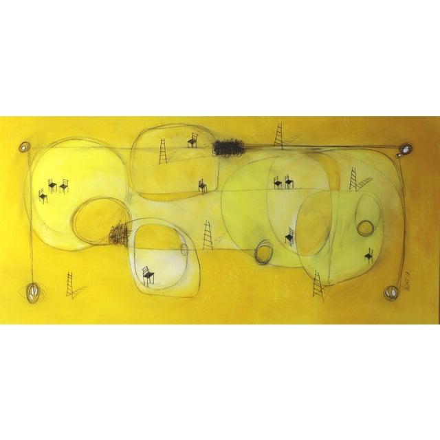 """""""Espacio De Sol"""" Original Abstract Artwork by Sergio Valenzuela For Sale - Image 9 of 9"""