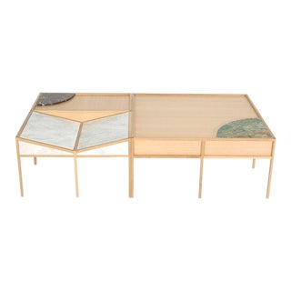 Trey Jones Studio Bookscape Coffee Table For Sale