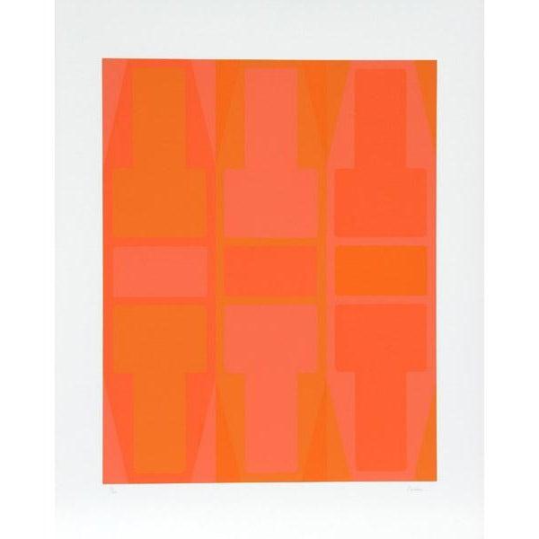 """T Series (Orange)"" Arthur Boden Serigraph - Image 2 of 3"