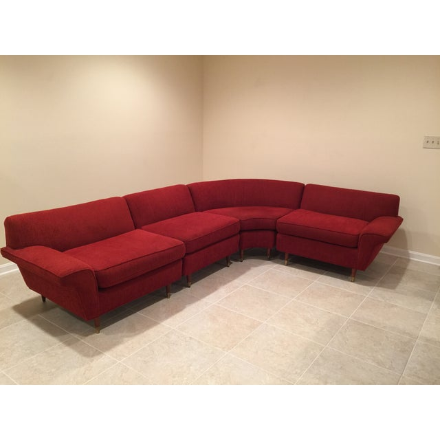 Mid-Century Four-Piece Sectional - Image 2 of 4