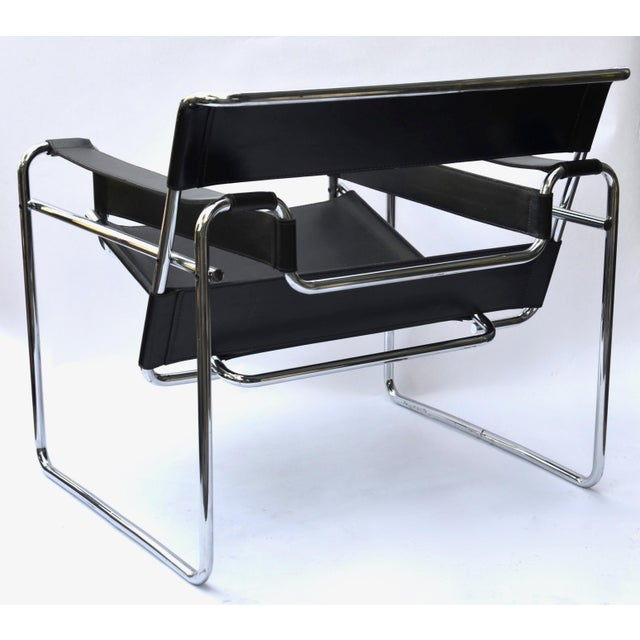 1970s 1970s Marcel Breuer Wassily Chair by Knoll For Sale - Image 5 of 12