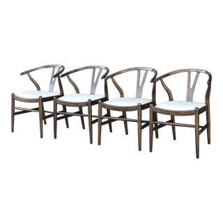 Mid Century Modern Wishbone Chairs For Sale
