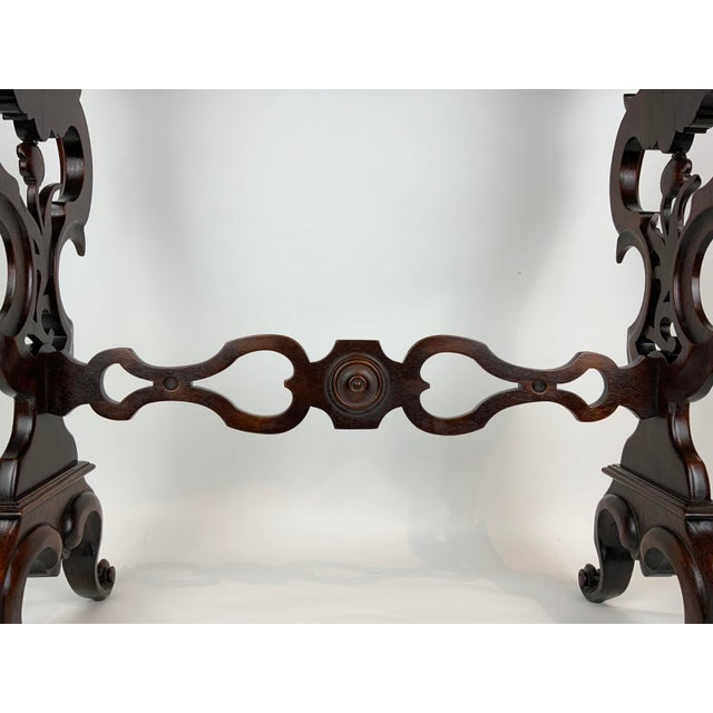 19th Century Victorian Side Table For Sale In Los Angeles - Image 6 of 13