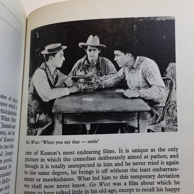 """1970 """"Buster Keaton"""" David Robinson Book For Sale In New York - Image 6 of 11"""