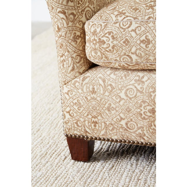 Jonas New York Bruxelles Four Seat Upholstered Sofa For Sale - Image 11 of 13
