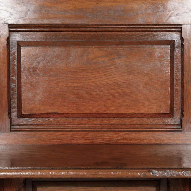 19th Century French Gothic Revival Period Church Pew or Hall Bench For Sale In Birmingham - Image 6 of 13