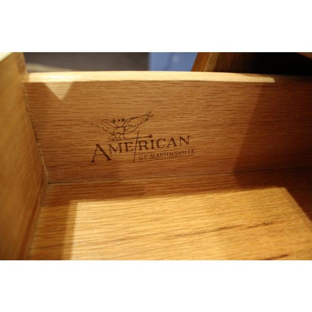 Mid-Century Modern American of Martinsville Merton Gershun Dania Nightstand For Sale - Image 10 of 11