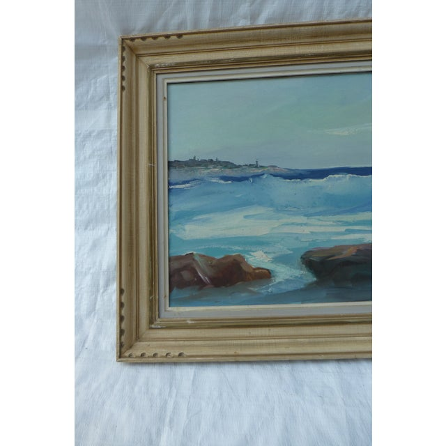 M. F. Musgrave Rockport Painting - Image 3 of 8