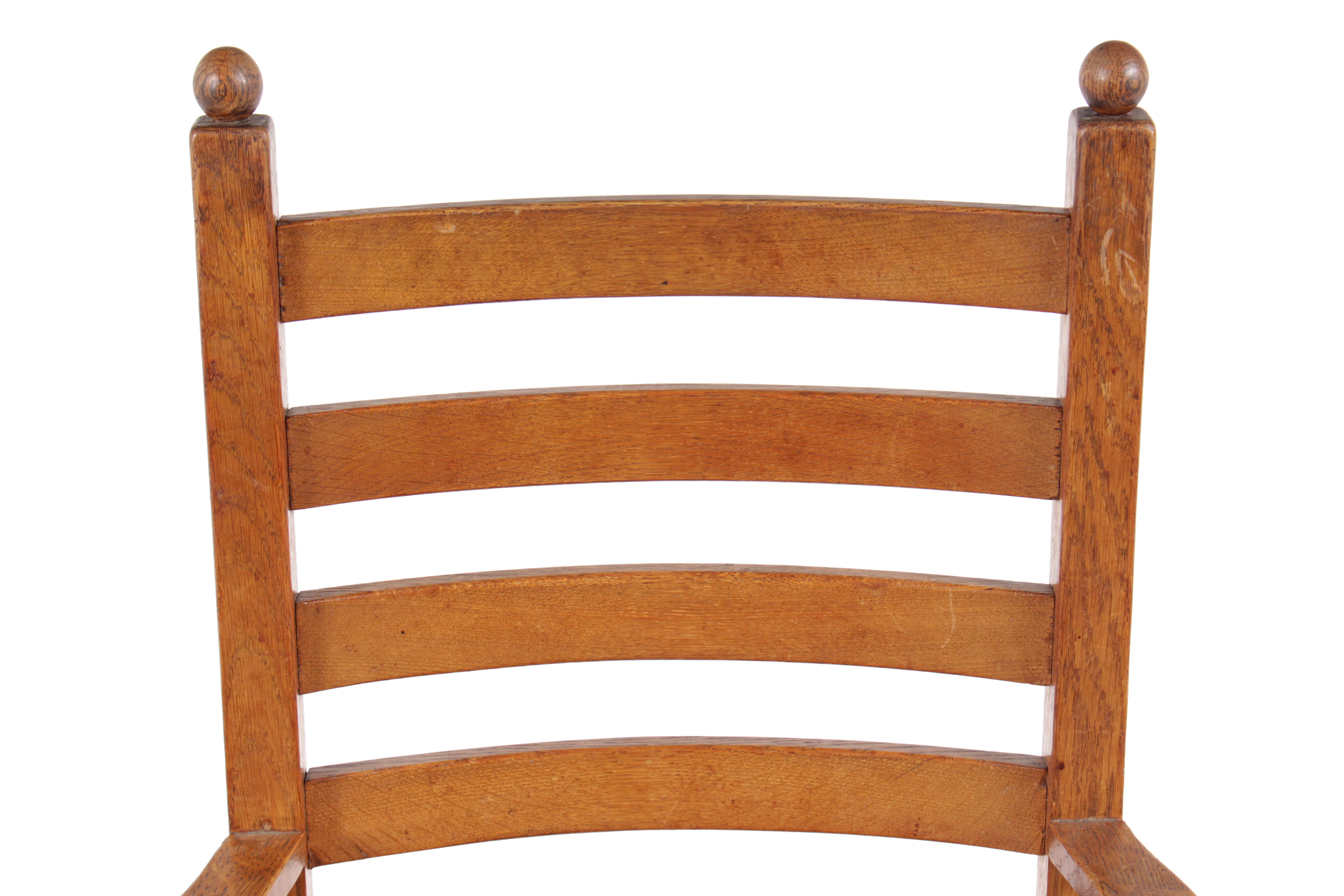 Superb 1940s Shaker Style Dining Chairs   Set Of 6 For Sale   Image 4 Of